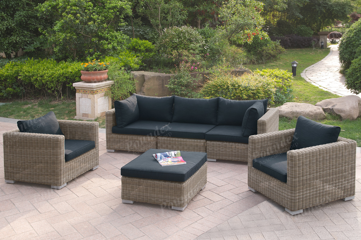 414 6 Pcs Outdoor Set Silver State Furniture