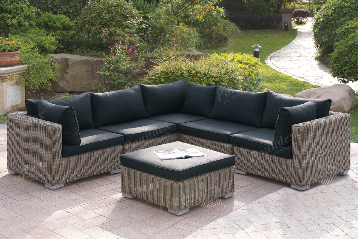 418 6 Pcs Outdoor Set Silver State Furniture