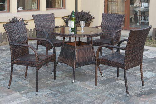 d3e4023b069 414 6-Pcs Outdoor Set - Silver State Furniture
