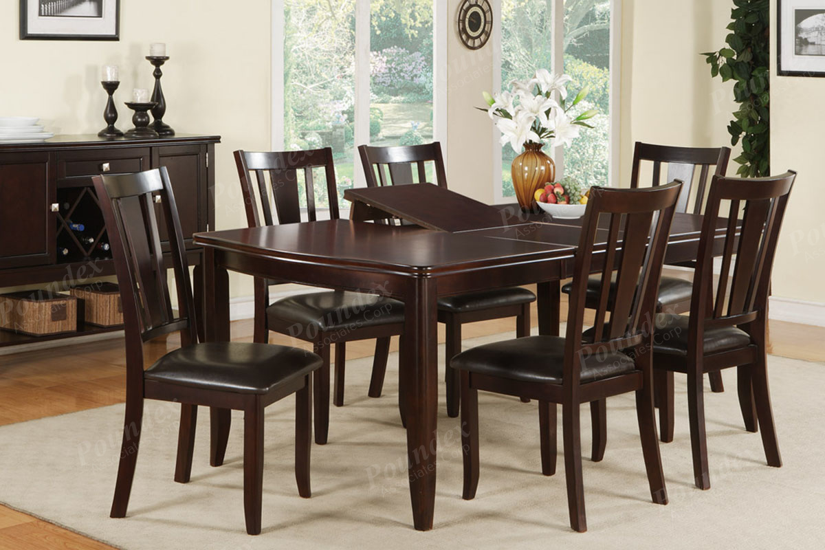 7 piece standard or counter height dining sets