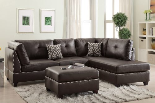 Awesome 3 Piece Sectionals Including The Ottoman 6974,6973 (2 Colors)