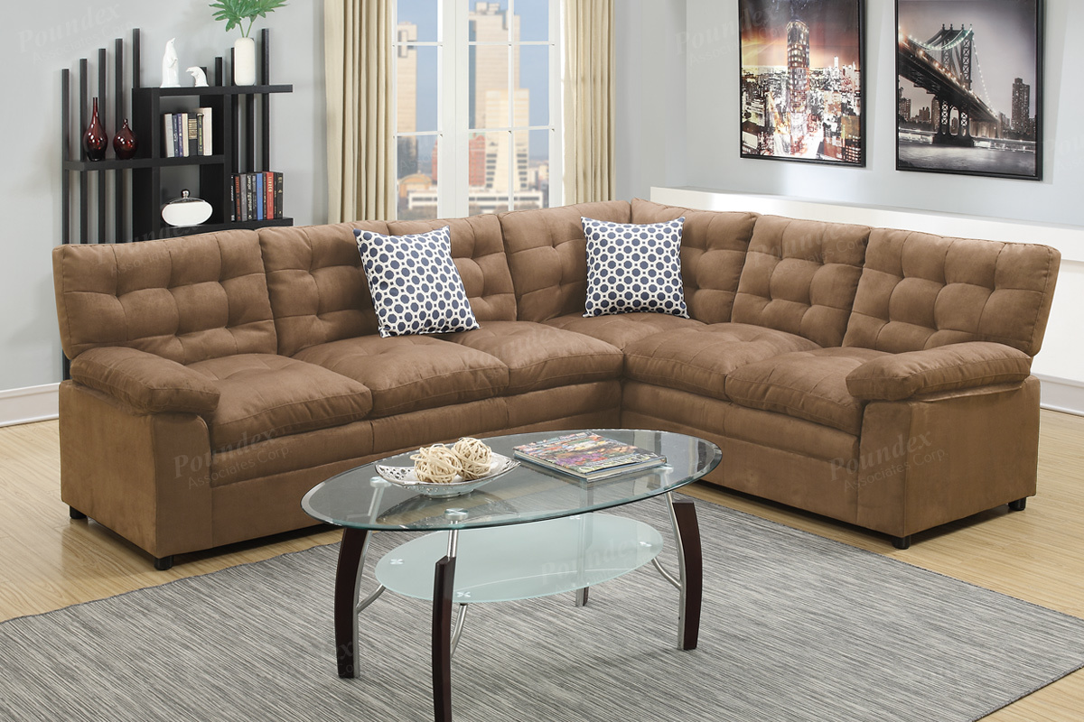 2 piece sectionals 6956 6957 6958 6959 4 colors silver for Affordable furniture 3 piece sectional in wyoming saddle