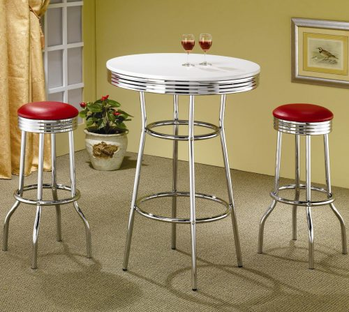 bar height and stools