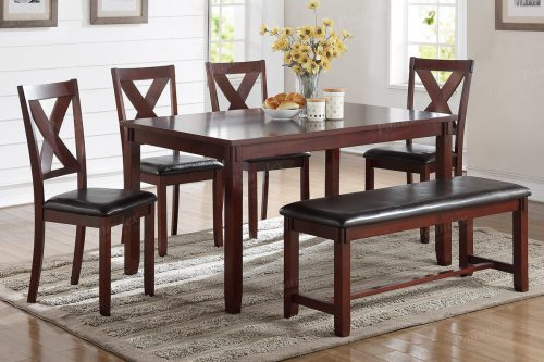 6 Pcs Dining Set 2297, 2298 (2 Choices)