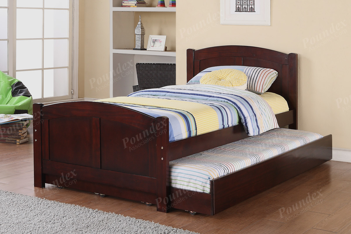 9276 Twin Bed With Trundle (3 choices) - Silver State Furniture
