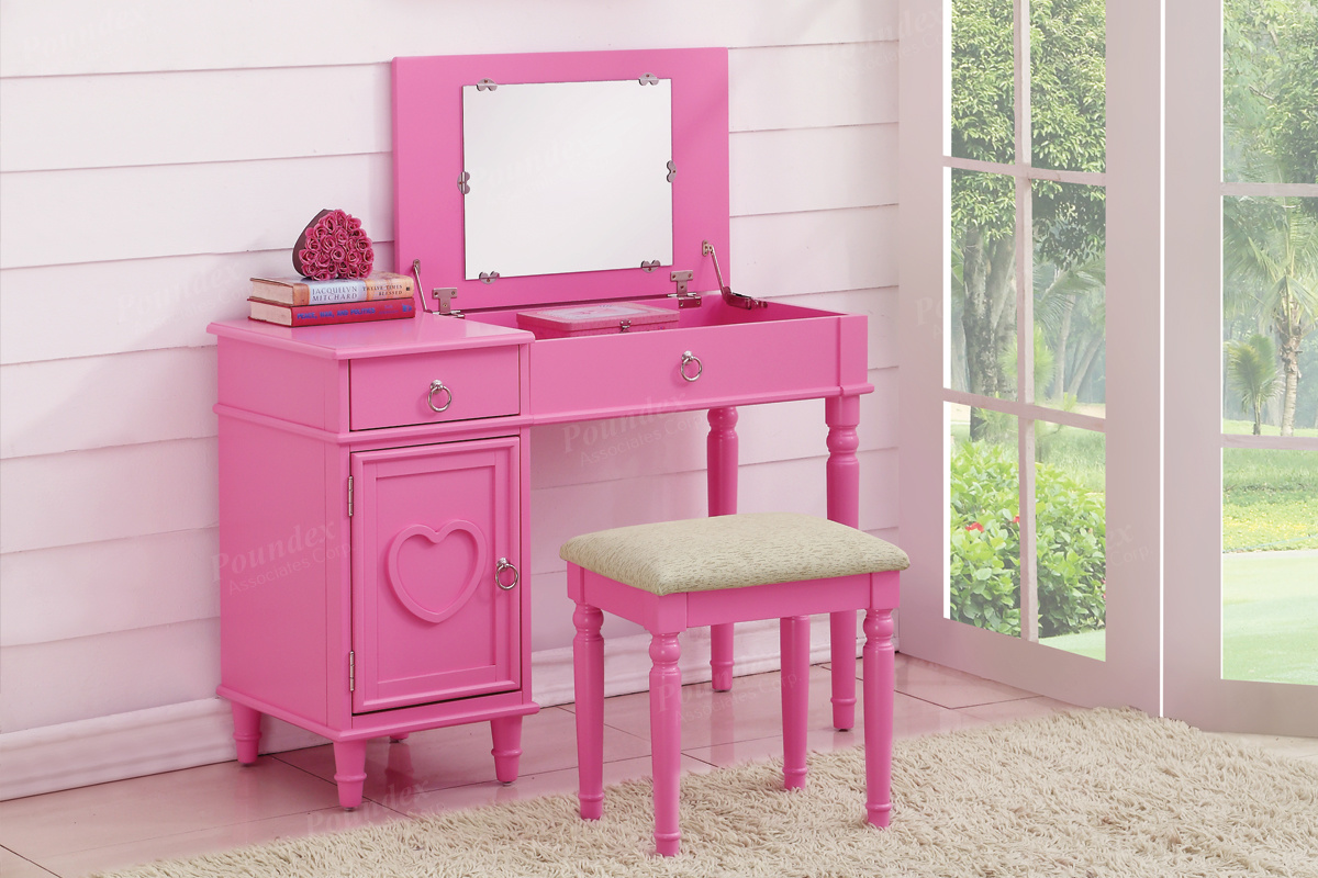 Vanity Sets With Stool 8 Choices Silver State Furniture