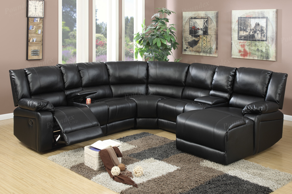 Motion Sectional F6746 (2 Colors)