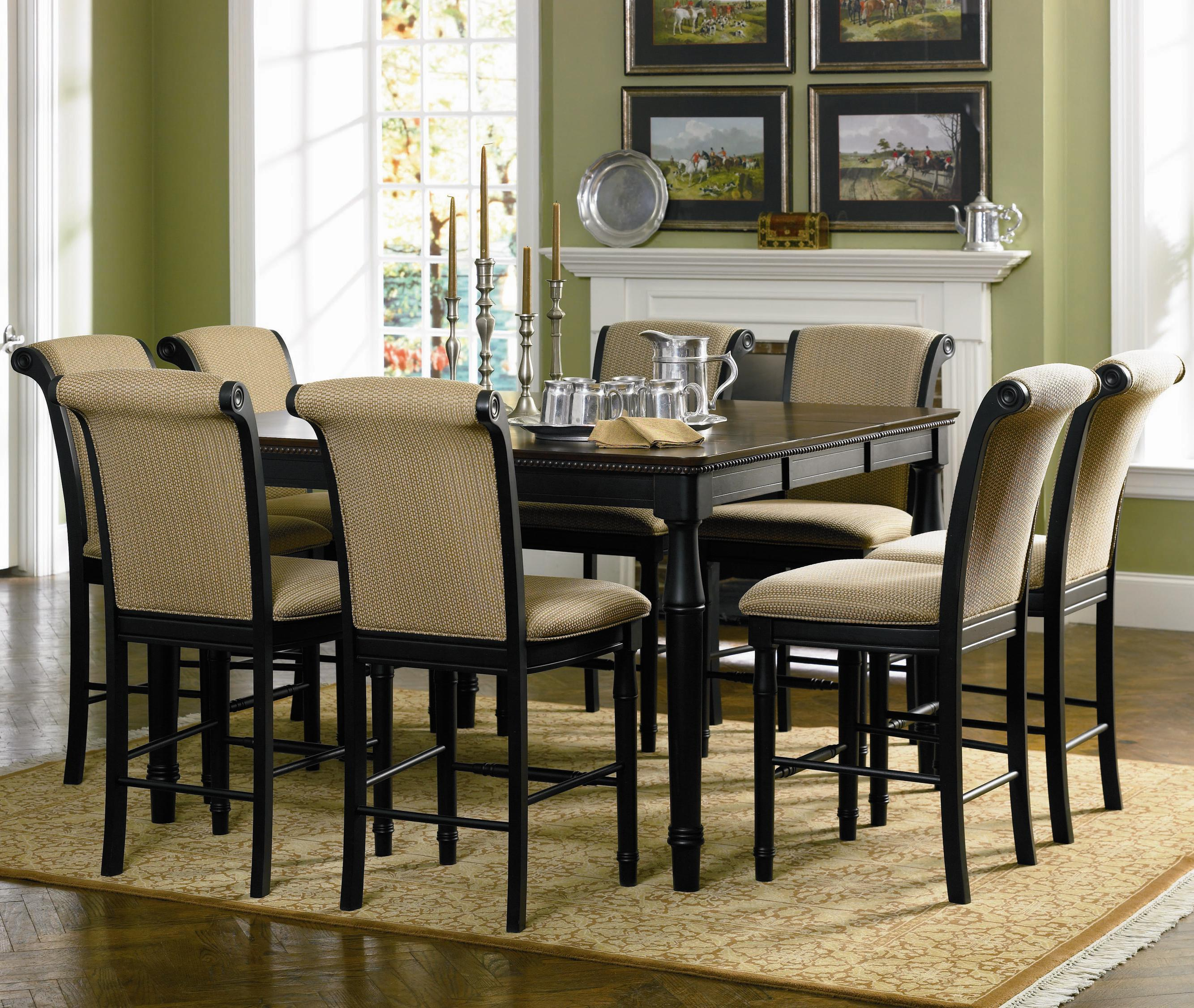 Cabrillo 9 Piece Counter Height Dining Set 101828 - Silver ...