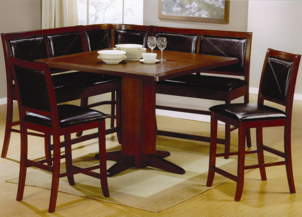 Lancaster 6 Piece Counter Height Dining Set 101791 - Silver ...